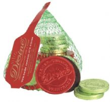 Divine Fairtrade Net Of Dark (70%) Chocolate Coins 65g